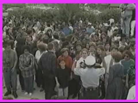 Selena Funeral