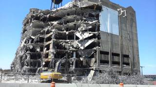 Cleveland Cold Storage Building Demolition