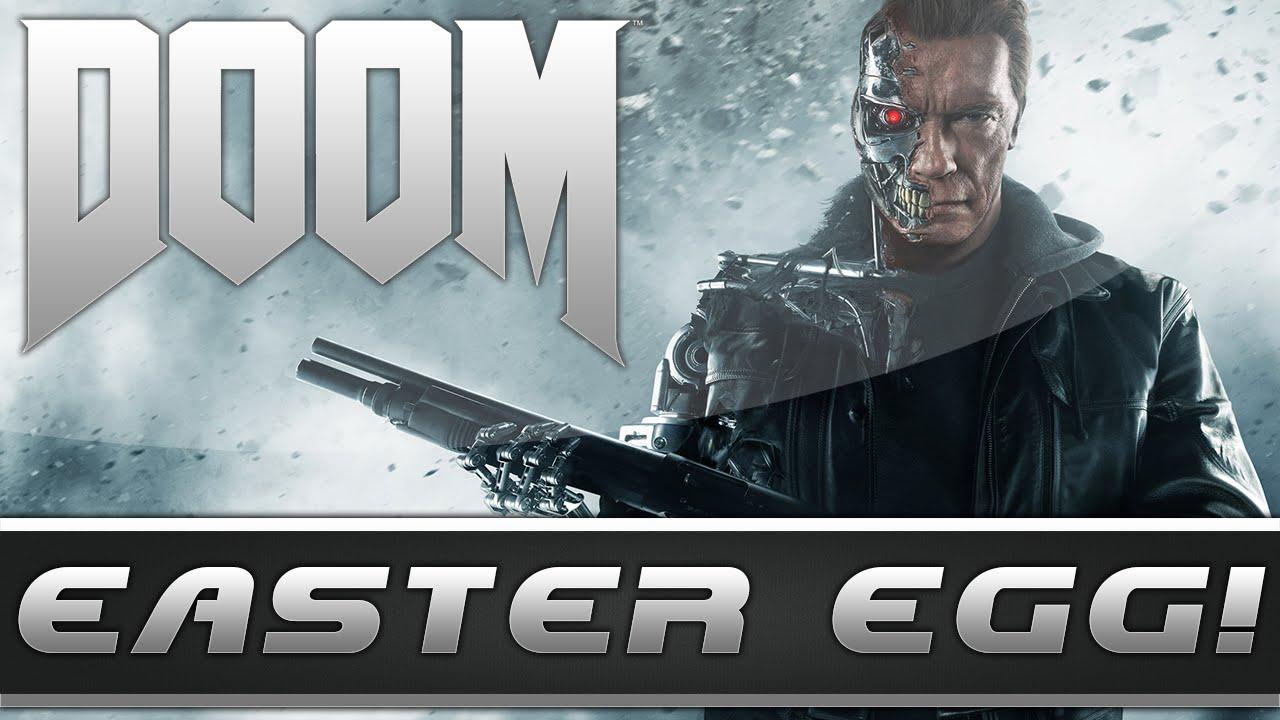 DOOM: Terminator 2 Easter Egg & Movie Reference! (DOOM 2016 Easter Eggs)