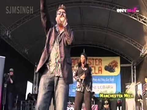 Nachangeh Sari Raath - Taz Of Stereo Nation & Eva (Manchester Mela 2009)
