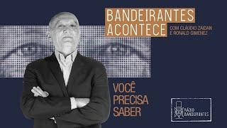 PREFEITO DE CAMPINAS ANUNCIA RETORNO DA CIDADE PARA FASE VERMELHA