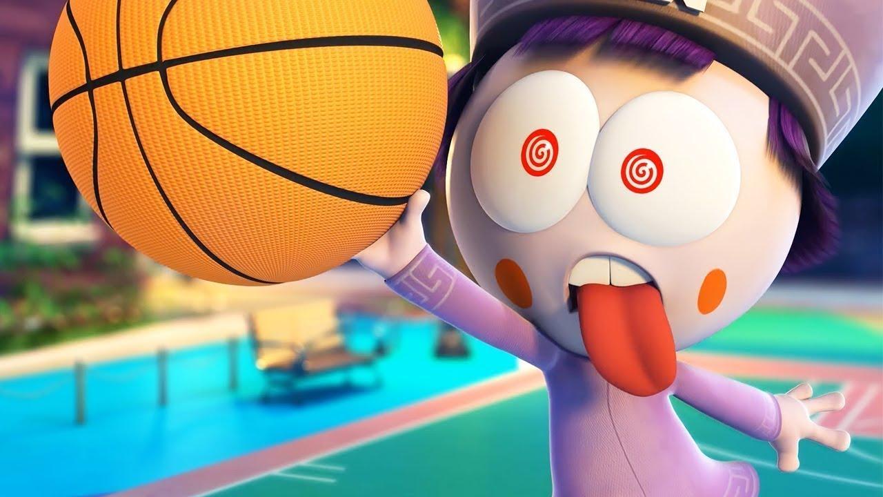Spookiz Basketball Champ Funny Cartoon For Children Wildbrain Cartoons Youtube