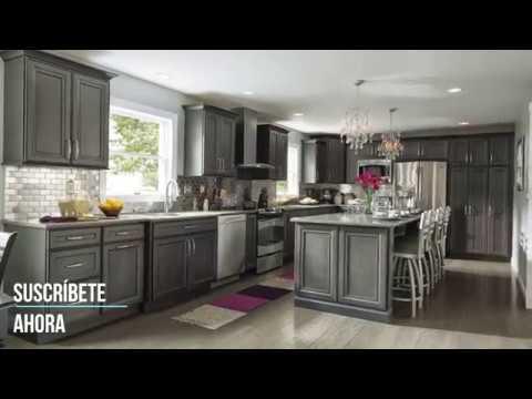 Cocina peque as modernas encantador 2019 youtube - Imagenes de cocinas integrales pequenas modernas ...
