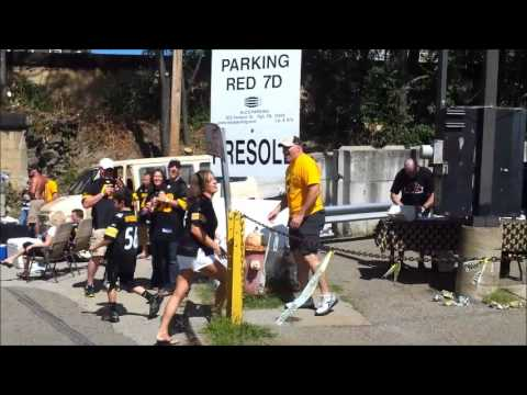 Steelers Tailgate Fishing 9/16/2012 vs. Jets