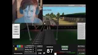 Cringe and stuff! ROBLOX TRAIN DRIVING STREAM!
