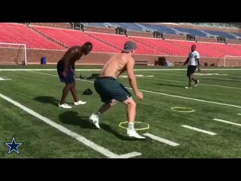 The Dallas Cowboys | Cole Beasley Preparing To Dominate!!!