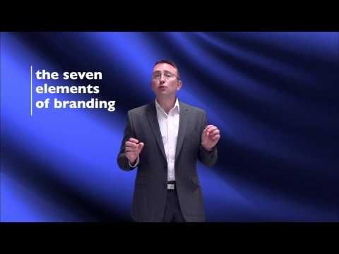 The seven elements of branding - BrandManager Marketing Minutes