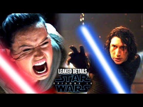 Star Wars Episode 9 Leaked Details! Kylo Ren & Rey Lightsaber Scene Details (Star Wars News)