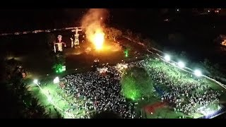 ISKCON MYSORE DASARA 2018 -  Breathtaking Drone Shots of SOUTH INDIA'S BIGGEST RAMA LILA
