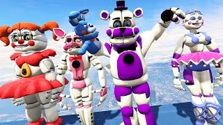 all sister location animatronics in gta 5 gta 5 mods fnaf funny moments
