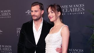 FIFTY SHADES FREED Paris Premiere Red Carpet - Dakota Johnson, Jamie Dornan, Rita Ora, Eric Johnson