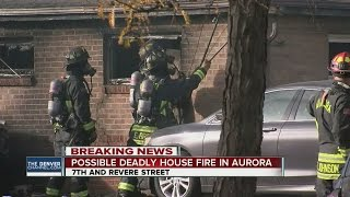 1 dead, several homes damaged in Aurora fire