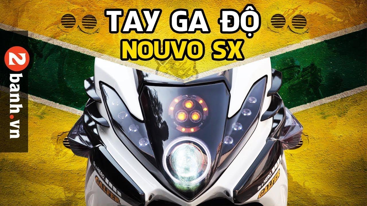Đánh giá Nouvo SX độ chất của biker Việt tại 2banh.vn