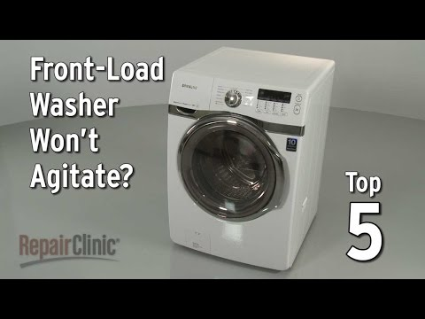 Top 5 Reasons Front-Load Washer Won't Agitate?