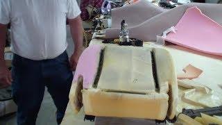 Car Seat Foam Repair