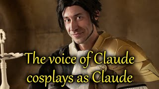 Claude's Voice Actor in Claude Cosplay - Fire Emblem Three Houses