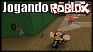 Playing Roblox-CRAZY PARKOUR NINJAS!