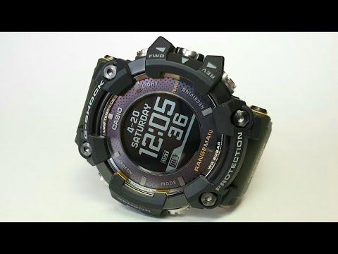 G-SHOCK GPR-B1000 RANGEMAN. Обзор\Review