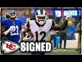SAMMY WATKINS SIGNS WITH THE CHIEFS! My Reaction And Thoughts.