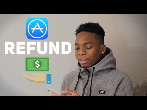 how to make refund of an app