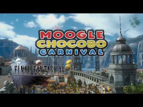 Final Fantasy XV Chocobo Moogle Carnival: All photo, Chocobo & Moogle locations and FISHING Prizes