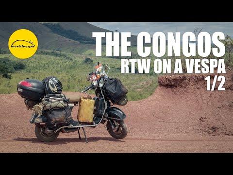 Vespa travel Congo (both Congo & DRC) (part 1/2)