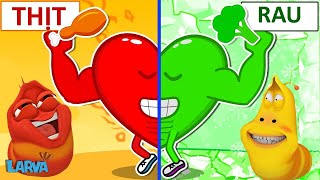 Larva Season 3 🍟Cartoons - Face to face  🥟 Cartoon Comedy 2020 🍟The newest compilation 2020