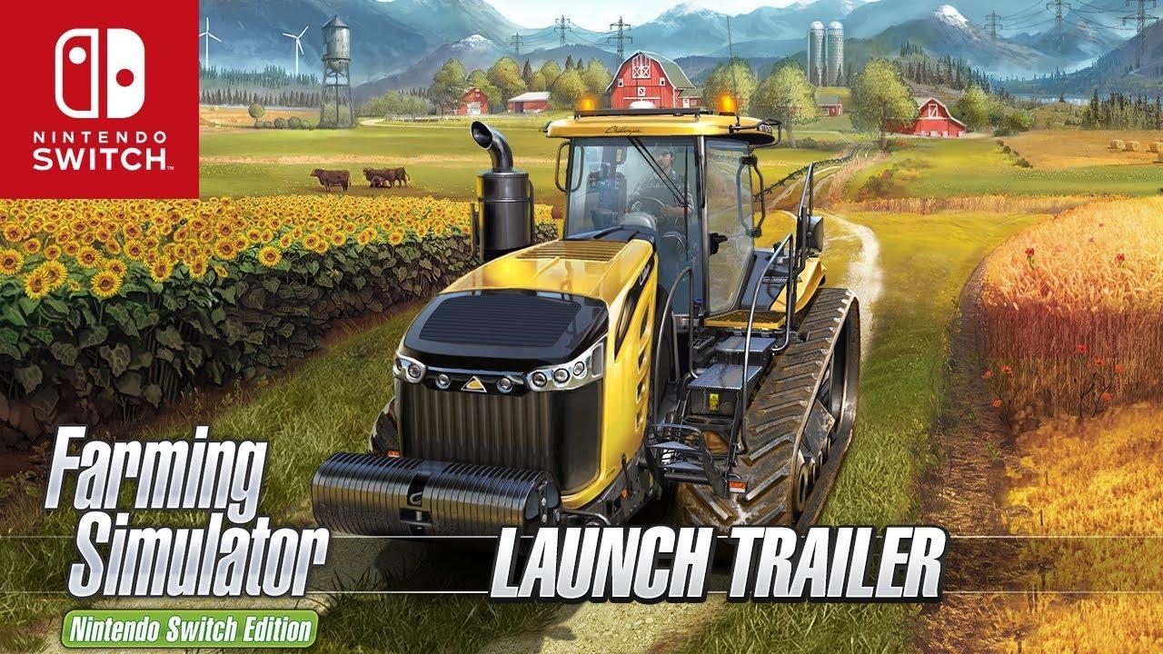 farming simulator nintendo switch edition official launch trailer