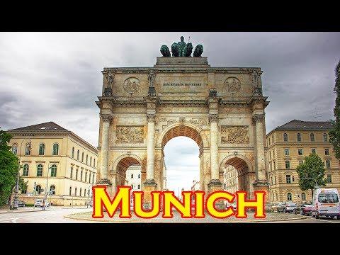 Munich Pearl of Bavaria - the ultimate Munich Muenchen City Tour  HD