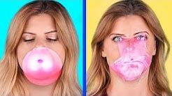 We Make Bubble Gum! / Bubble Gum Challenge!
