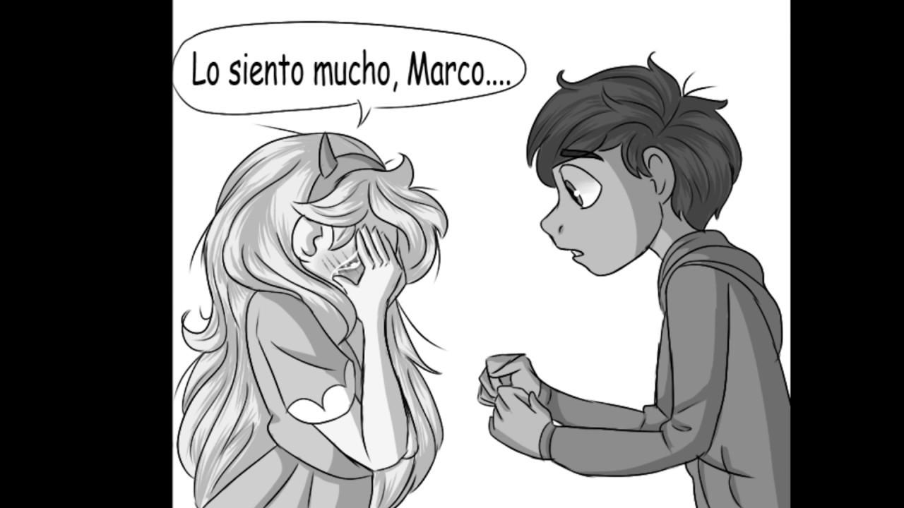 Star x Marco Confesión Comic en Español - Myah - YouTube