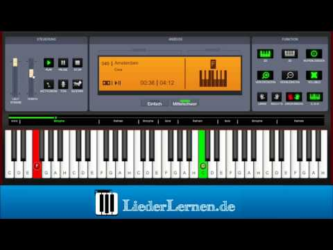 Cora - Amsterdam - Klavier Lernen - Musiknoten - Akkorde