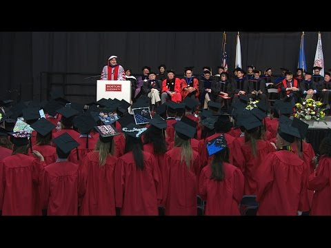 Highlights from Boston University's Pardee School of Global Studies 2016 Convocation