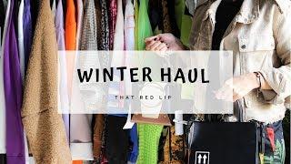 WINTER HAUL مشترياتي للشتا / زارا، بيرشكا، اديداس، اسوس، فارفيتش وغيرهم