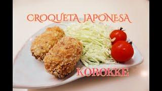 ERIKO en JAPON CONTIGO #67 Receta de Korokke(Croqueta Japonesa)@Tot...