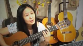 Duyên Phận  phận làm con gái chưa một lần yêu ai    guitar  lục bình tím
