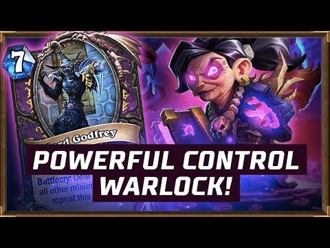 Powerful Control Warlock! | The Boomsday Project | Hearthstone