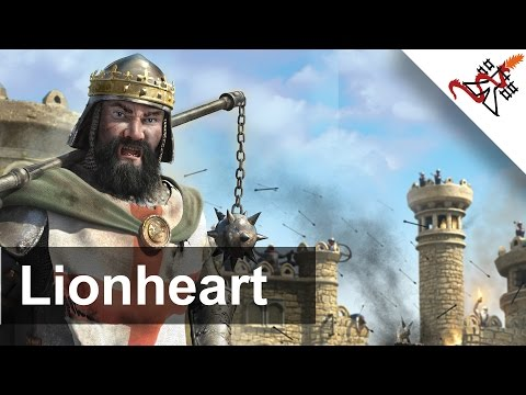 Stronghold Crusader 2 - Mission 4 | Jerusalem | Lionheart | Learning Campaigns