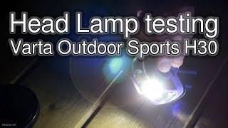 Head Lamp Varta Outdoor Sports H30