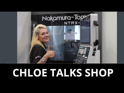 Swarf & Chips April 21st - Two Women talking Shop
