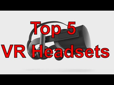 Top 5 VR Headsets of 2016