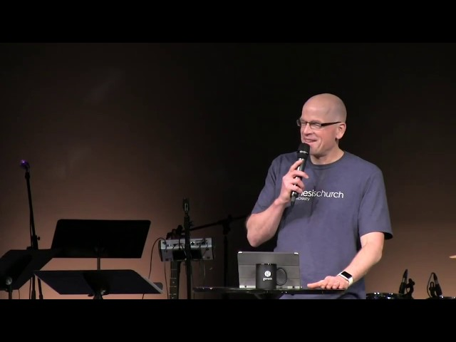 February 24th - Norm Byers -  Baptism Sunday