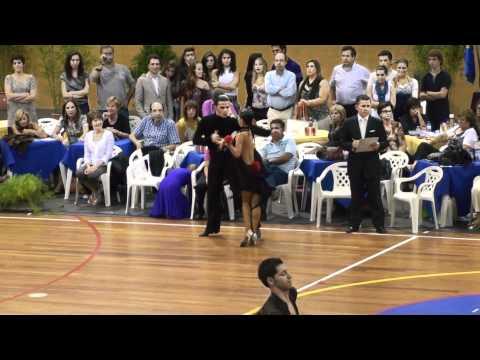 Portugal Open IDSF 2010 - Latin - Semi final - Samba