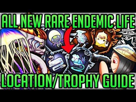 All Iceborne Insane Rare Pet Locations - Endemic Life Trophy Guide - Monster Hunter World Iceborne!