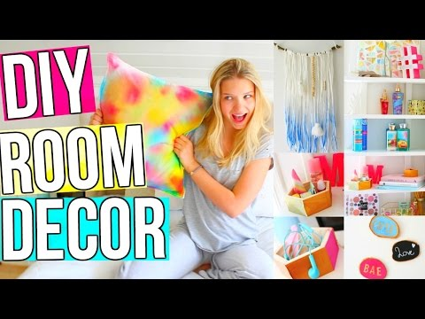 Diy Room Decor! 5 Diy Room Decoration & Organization Ideas