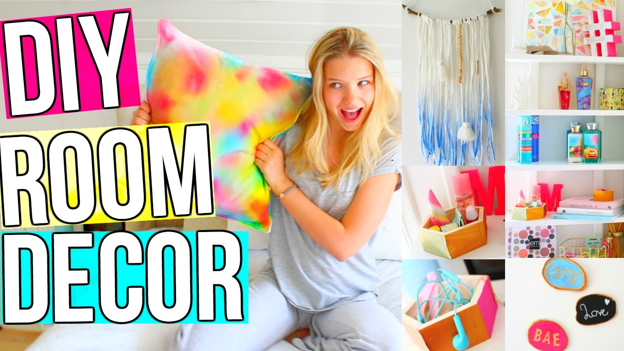Diy Room Decor 10 Diy Room Decorating Ideas For Teenagers: DIY Room Decor! 5 DIY Room Decoration & Organization Ideas