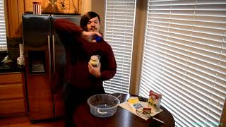 DIY Edible Christmas Slime!! *with a twist*