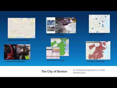 Managing Winter Maintenance with GIS – Public Works Webinar Series