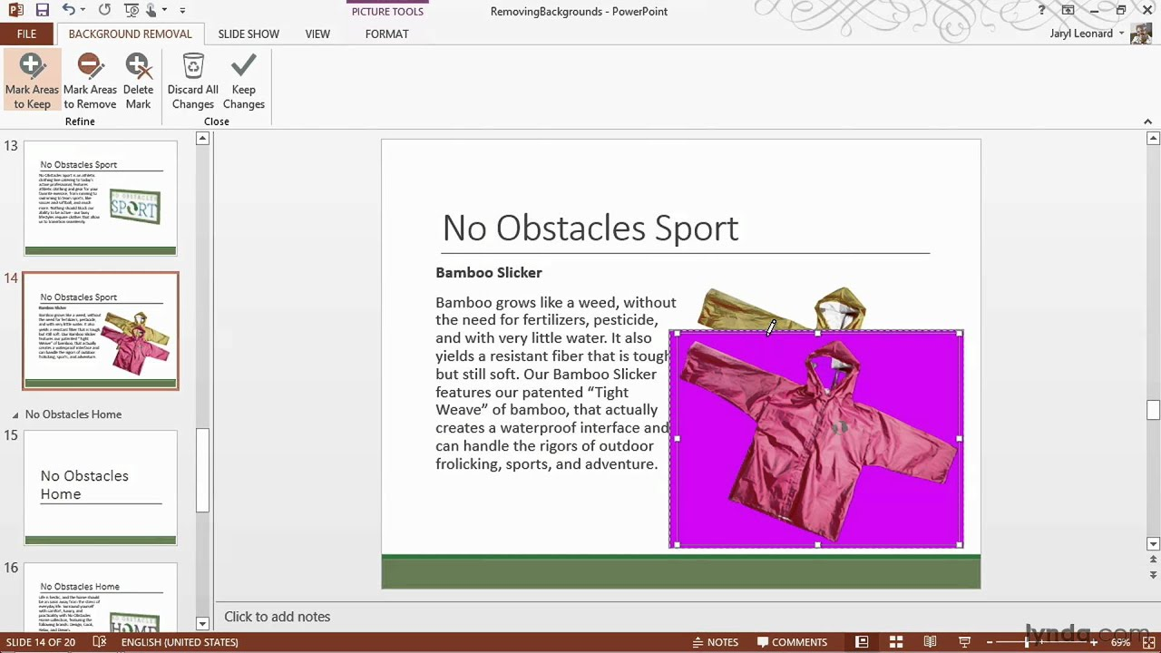 Powerpoint 2013 tutorial removing the background from pictures youtube premium toneelgroepblik Image collections