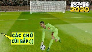 Thử Ronaldo làm thủ môn vẫn ghi bàn và cái kết Dream League Soccer 2020 | Ronaldo Goalkeeper DLS 20